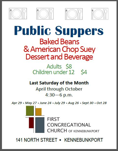 PUBLIC SUPPERS